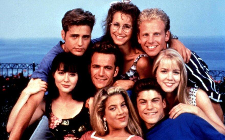 """Serialo """"Beverli Hilsas, 90210"""" aktoriai"""