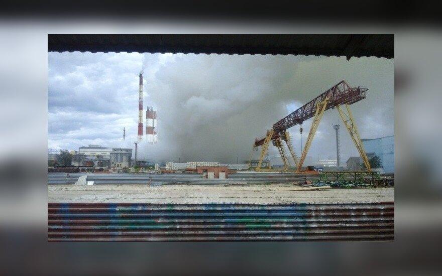 Sprogimas Gardino azoto gamykloje (S13.ru. blogo nuotr