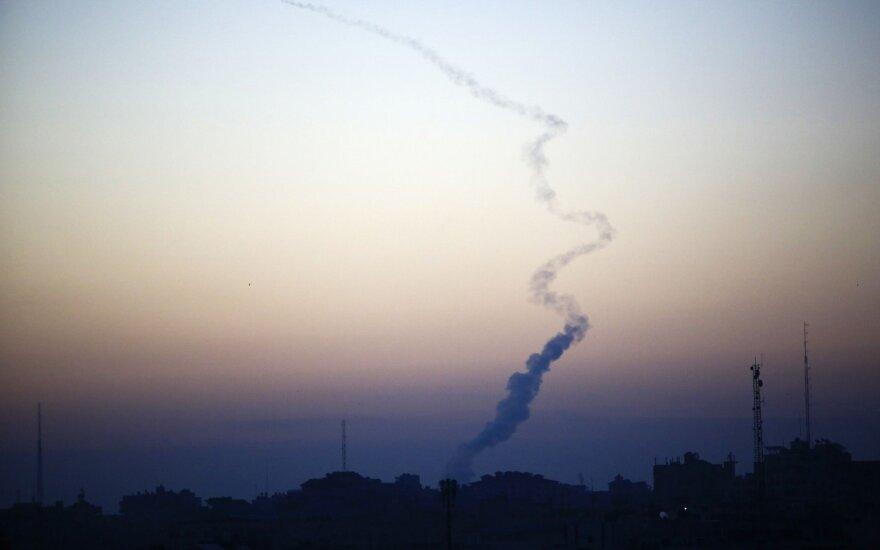 Per raketų ataką iš Gazos žuvo izraelietis