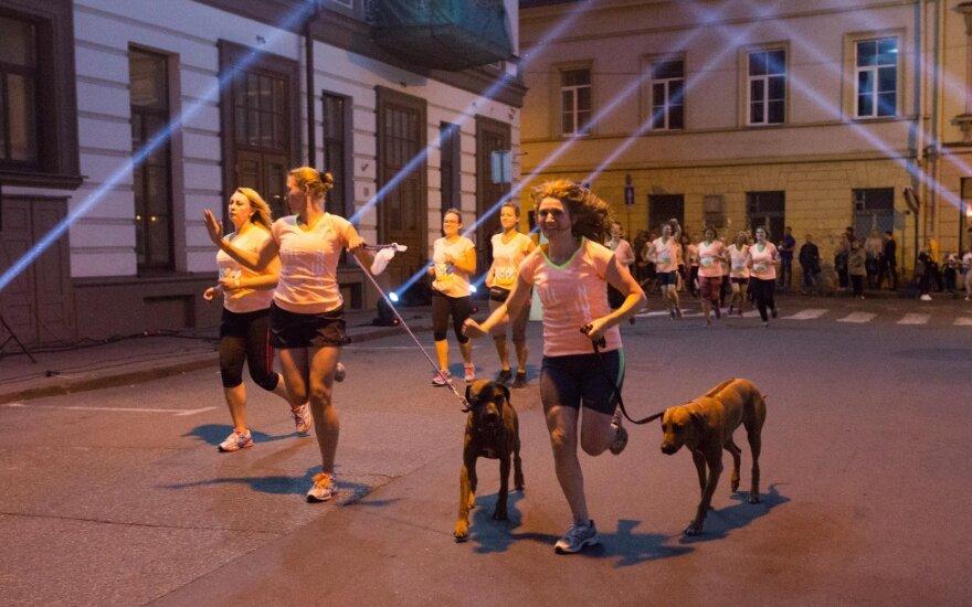 Šeštadienio naktį Vilniuje karaliavo moterys