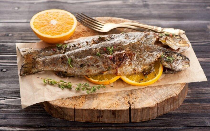 Gaminame namuose: pagiriamasis žodis žuvienei