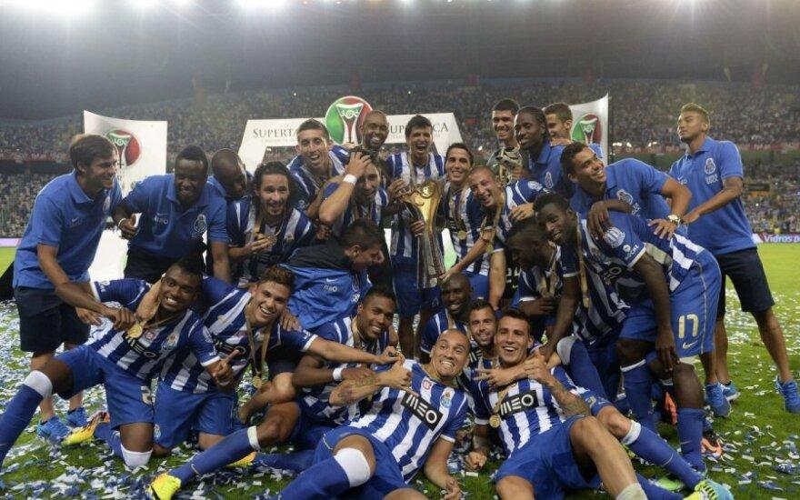 """""""Porto"""" futbolininkai"""