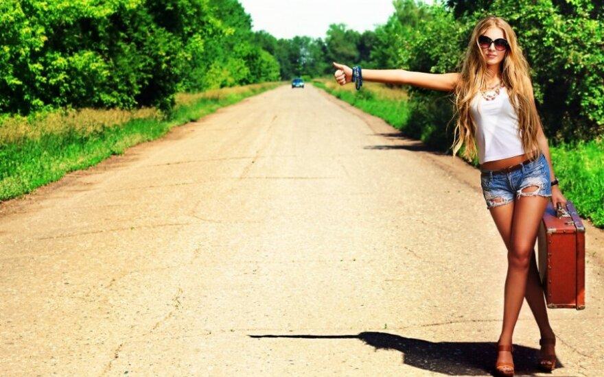 Pigiausias pasaulio bilietas: 5 patarimai, kaip keliauti autostopu