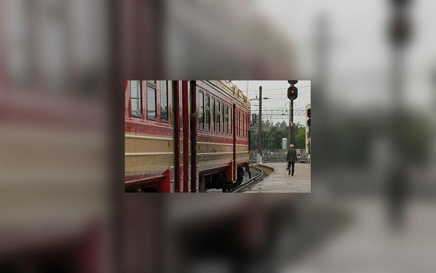 Traukinys, geležinkelis, stotis