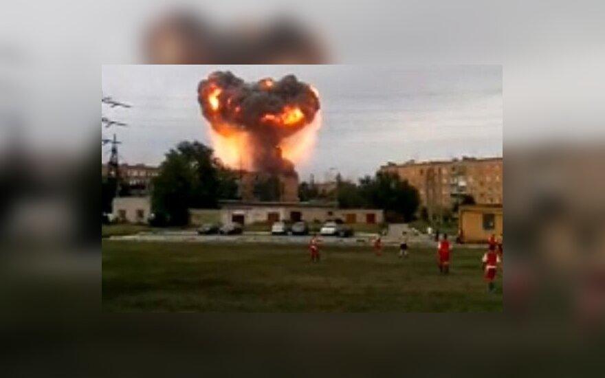 Samaros srityje – panika: nugriaudėjus sprogimams, evakuota apie 6 tūkst. žmonių
