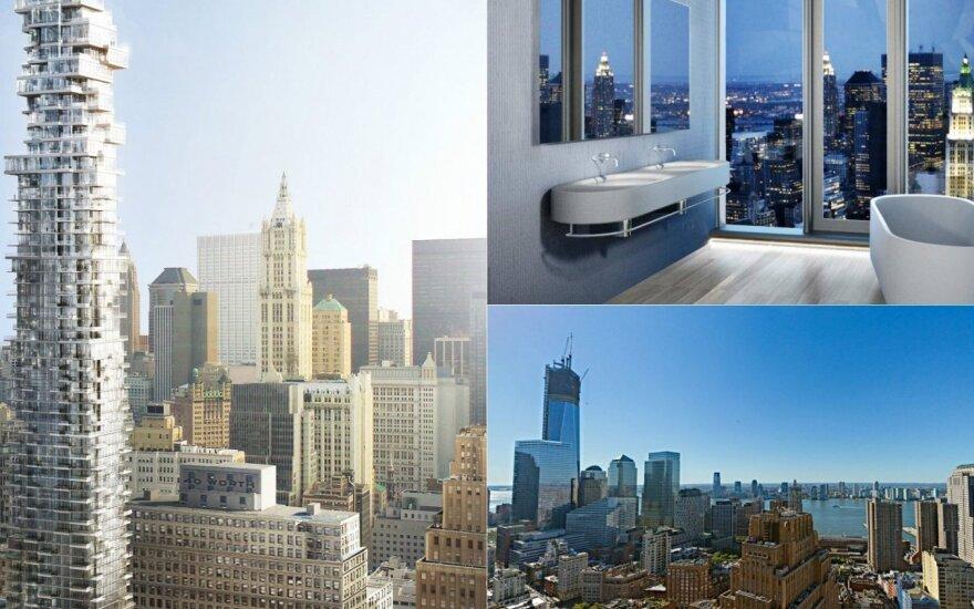 """Niujorko architektūrinę įžymybę vadina """"Jenga"""""""