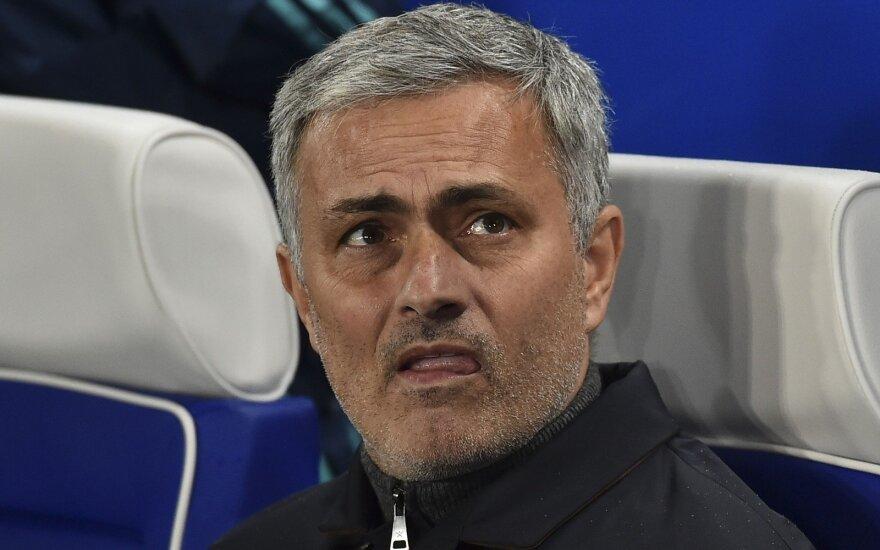 Sirijos futbolo rinktinė pageidavo J. Mourinho
