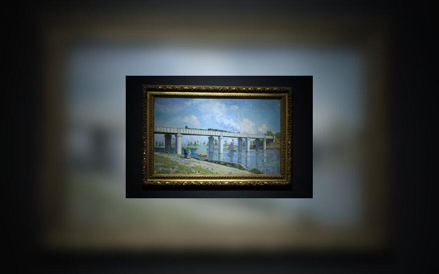 """Claude Monet paveikslas """"Tiltas Aržantėjuje"""""""