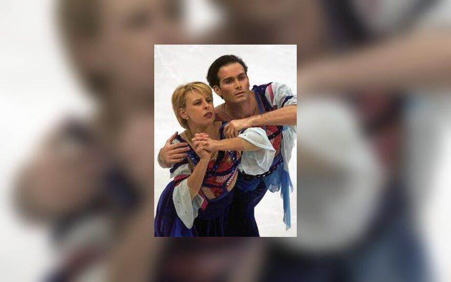 Barbara Fusar-Poli ir Maurizio Margaglio