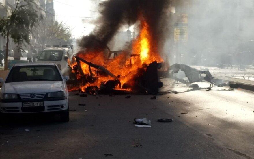 Šiaurės Sirijoje per sprogdinimą žuvo 13 žmonių