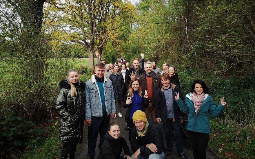 Vokietijos lietuvių jaunimo aktualijų centre – sportas ir politika