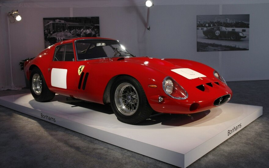 """Retas """"Ferrari 250 GTO"""" modelis"""