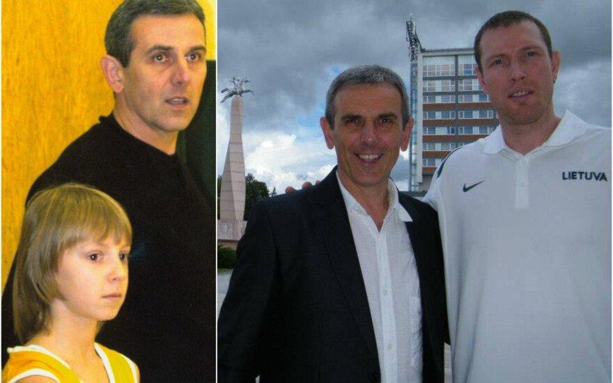 Gintautas Žibūda su Arnoldu Kulboka (kairėje) ir Dariumi Songaila / Foto: G. Žibūdos archyvas