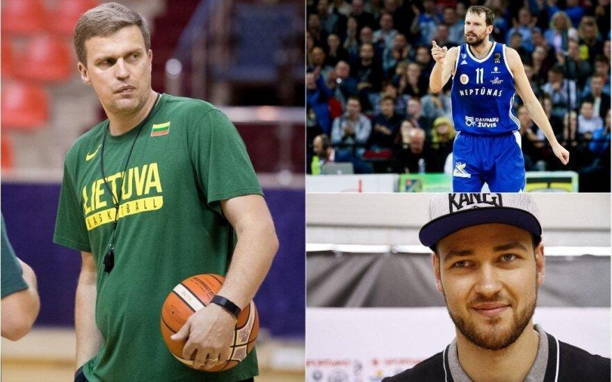 Galutinis Lietuvos rinktinės sąrašas – vėl be Motiejūno, bet su naujais vardais