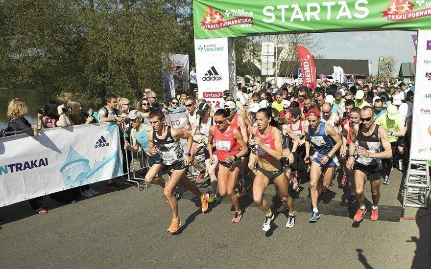 """Trakų pusmaratonis / Foto: """"Eurovaistinės Trakų pusmaratonis"""""""