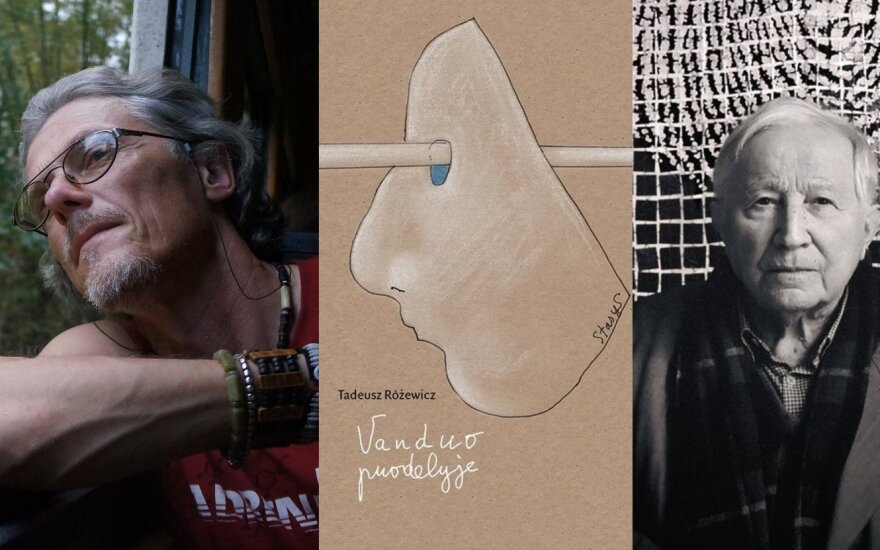 Tadeuszo Różewicziaus poezijos rinktinės sudarytojas Eugenijus Ališanka: jis laikomas vienu pirmųjų vartotojiškumo kritikų