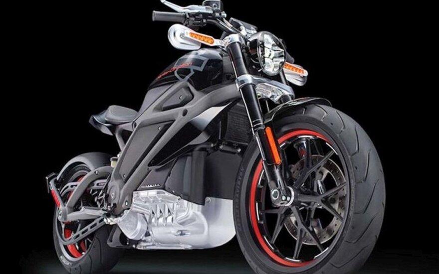 """Koncepcinis """"Harley-Davidson LiveWire"""""""