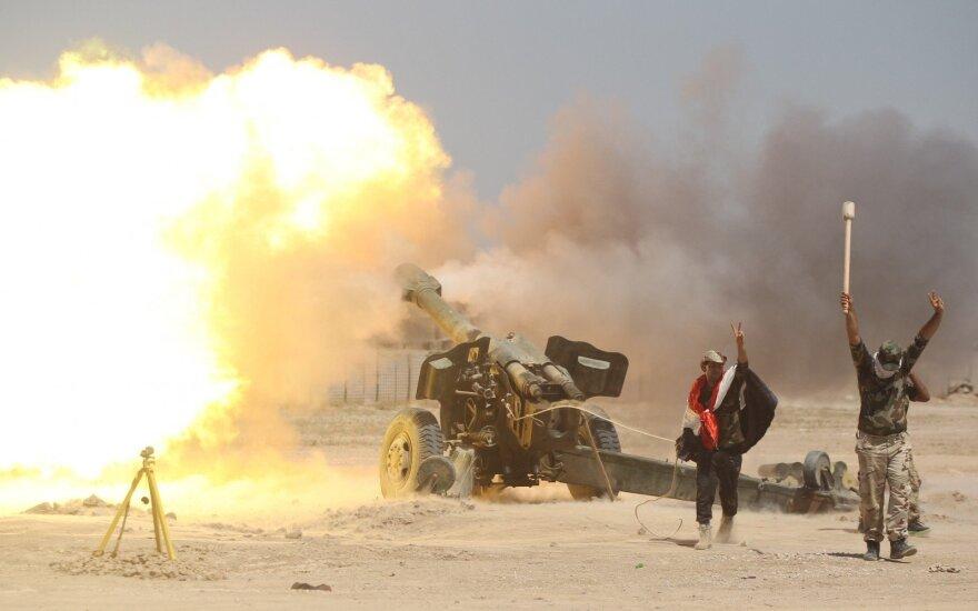 Irakas teigia suėmęs per 500 spėjamų IS islamistų