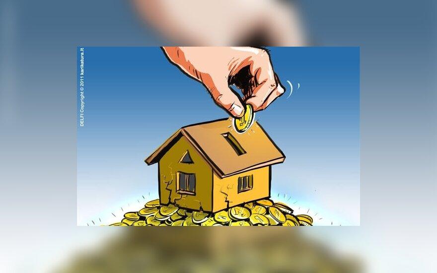 Airijoje įvedamas nekilnojamojo turto mokestis