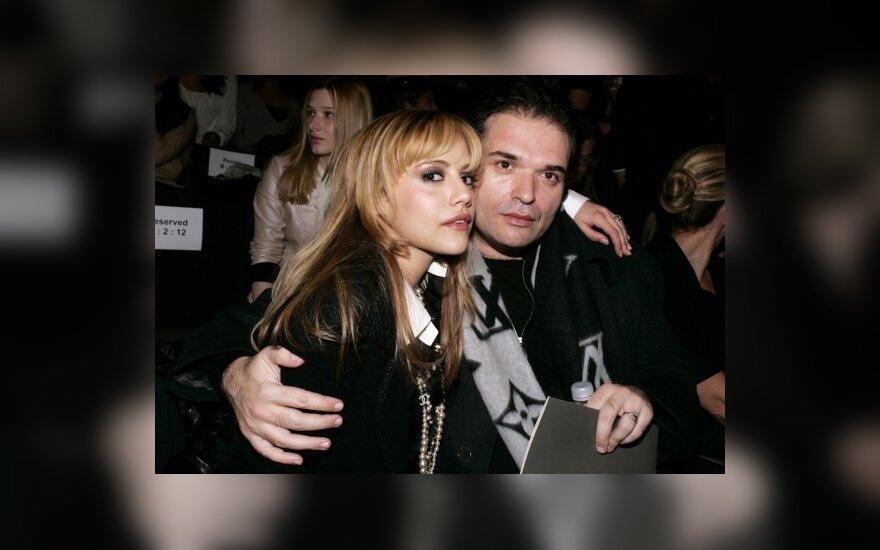 Brittany Murphy su vyru Simonu Monjacku