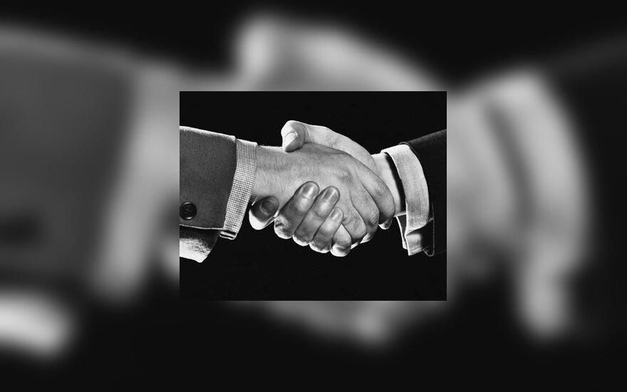 Handshake, rankos