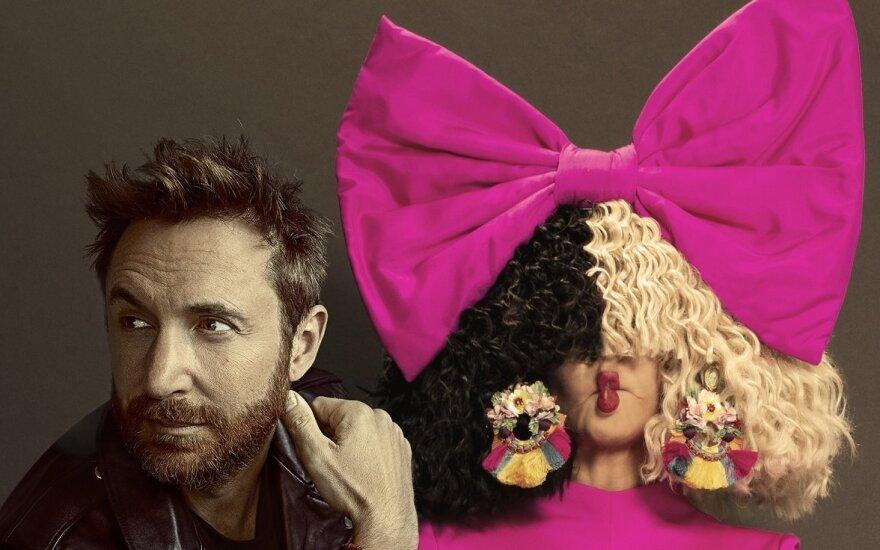Davidas Guetta ir Sia / Foto: Warner Music