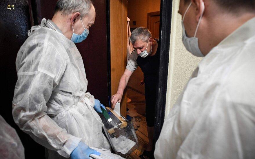 Rusijoje užregistruota dar 5 tūkst. COVID-19 atvejų, 114 žmonių mirė