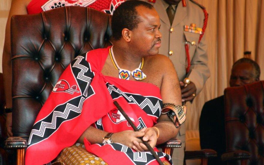 Svazilendo karalius Mswati III