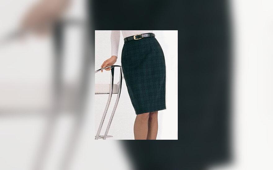 kojos, sijonas