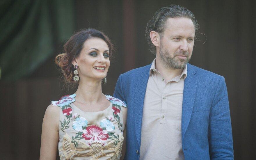 Marius Zaveckas ir Alina Komkaitė