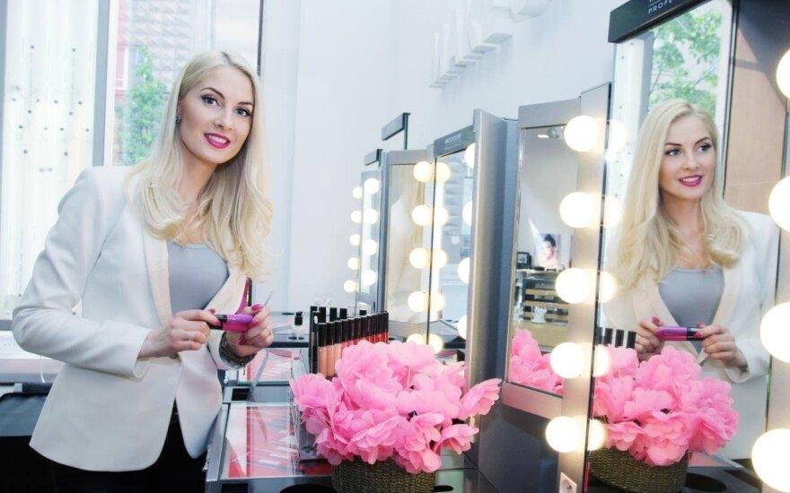 Kristina Ivanova kuria savo vardo kosmetikos liniją