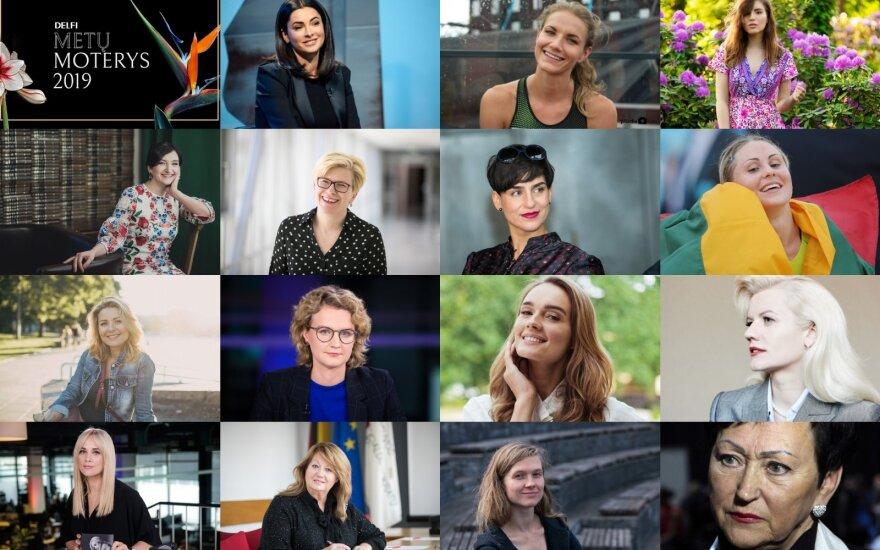 """""""DELFI Metų Moterys 2019"""" rinkimai"""