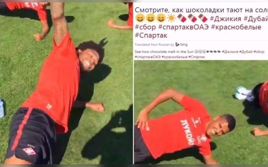 Spartak rasizmas