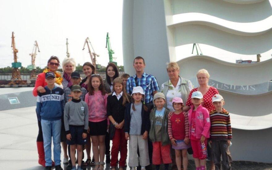 Mažieji ligoniukai keliavo į Jūrų muziejų