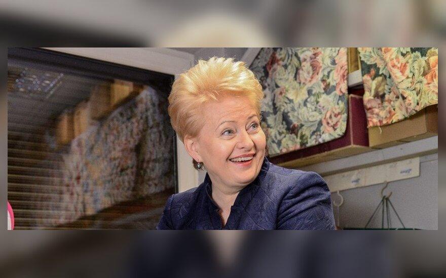 Dalia Grybauskaitė Panevėžyje R. Dačkaus nuotr.