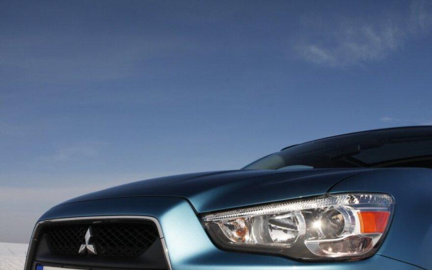 """""""Mitsubishi"""" tikisi, kad elektromobiliai duos pelno po 2 m."""