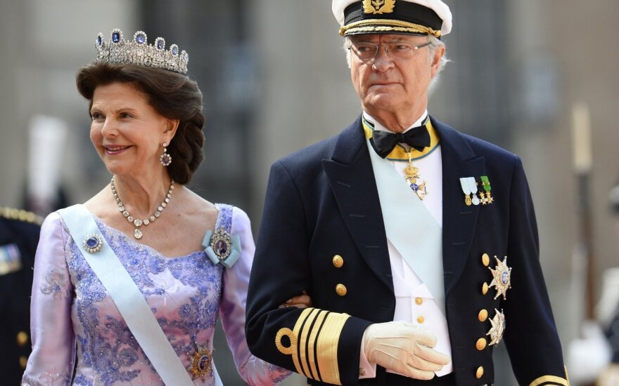 Carl XVI Gustav of Sweden and Queen Silvia