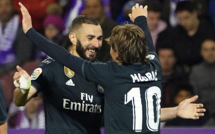 Karimas Benzema ir Luka Modričius