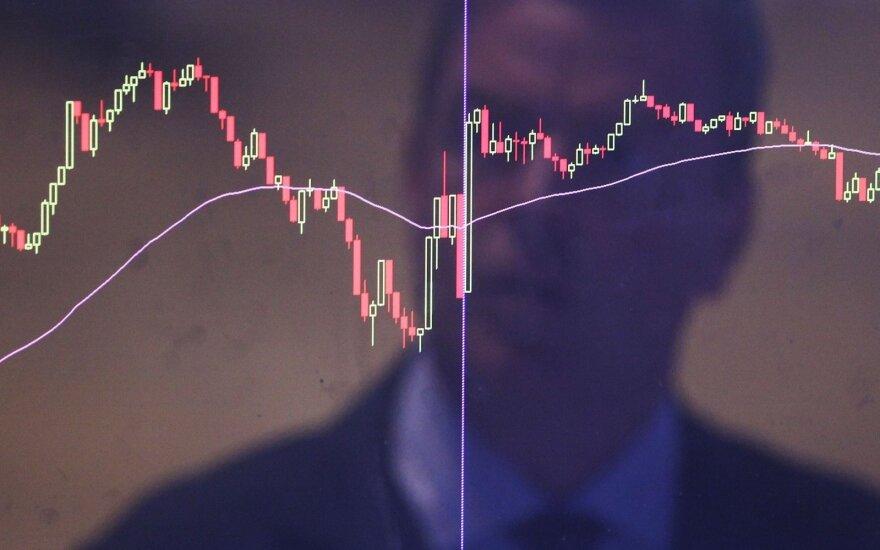 Suprastėję euro zonos ekonominiai rezultatai kelia nerimą investuotojams
