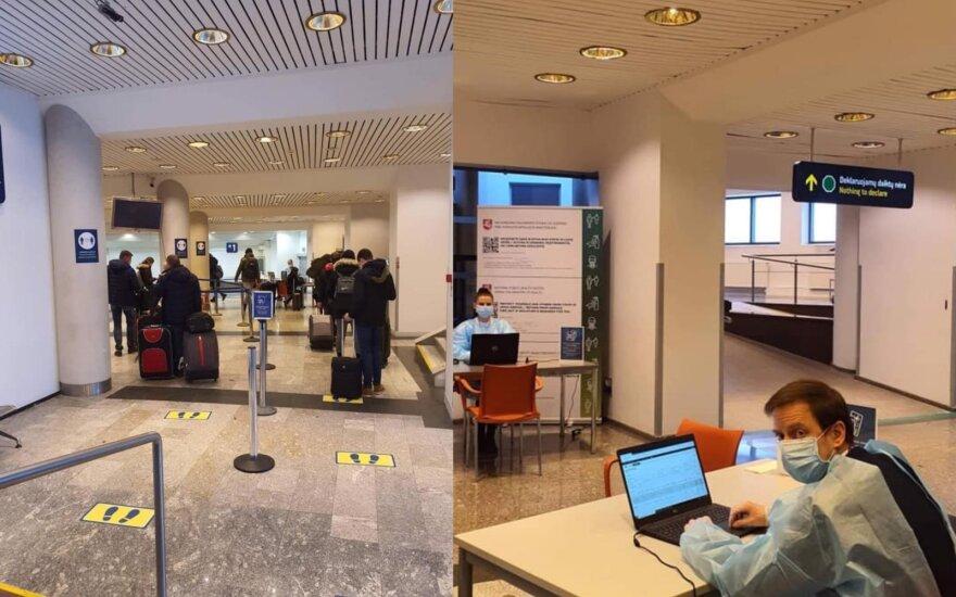 Lietuvoje įsigaliojo sugriežtinta kelionių kontrolės tvarka: paviešino pirmuosius rezultatus