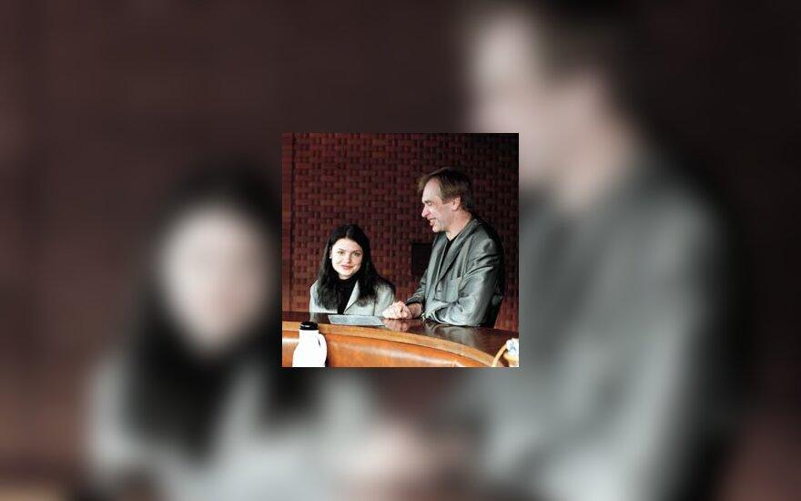 Gintaras Rinkevičius ir Donata Kalneva