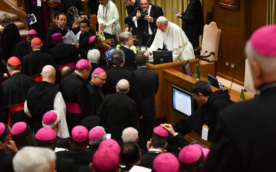 Vatikane prasideda susitikimas dėl lytinių nusikaltimų Bažnyčioje
