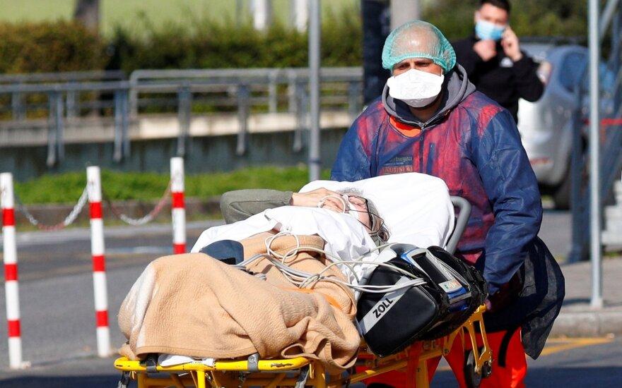Italijoje koronaviruso epidemijos aukų skaičius viršijo 20 tūkst.