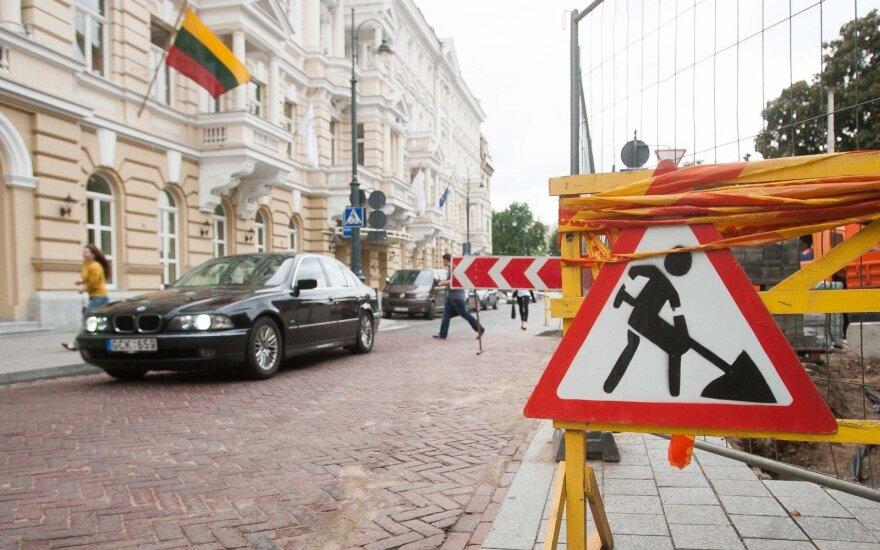 Rekonstruota dviejų Vilniaus gatvių sankryža – saugesnė