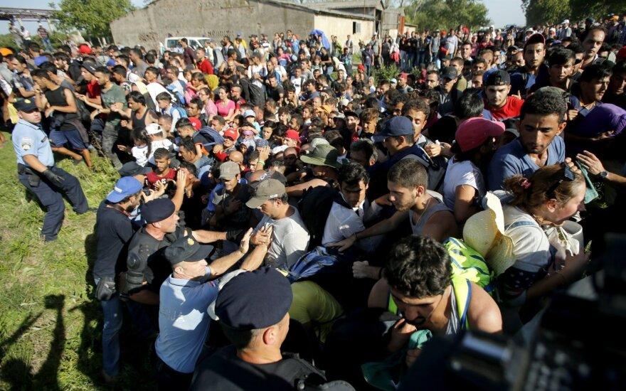 Kroatijoje – chaosas, skamba perspėjimai