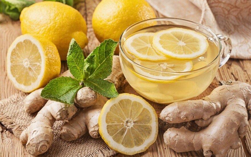 Imbiero arbata: tirpdo inkstų akmenis, valo kepenis ir naikina vėžines ląsteles