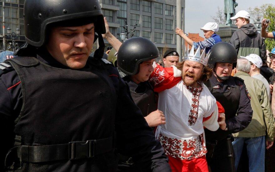 Protestas prieš Putino inauguraciją