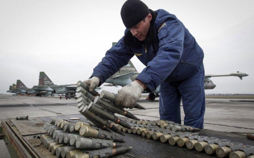 Kaliningrado srityje surengtos pratybos naudojant pakrančių apsaugos raketų sistemas