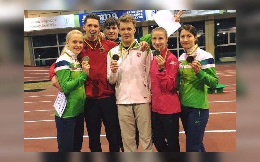 Lietuvos šiuolaikinės penkiakovės čempionato prizininkai