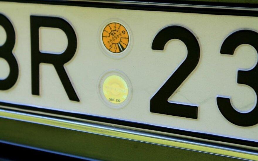 Valstybinis automobilio numeris